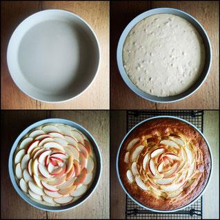 Apfelkuchen Runde Ofenhexe, Pampered Chef Rezepte