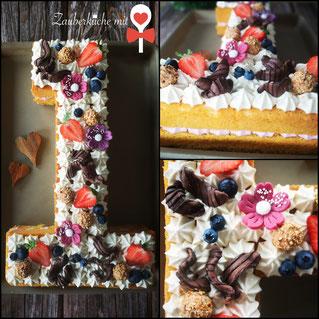 Geburtstagskuchen, Nummerkuchen, Zahlenkuchen, Motivkuchen, Zauberküche