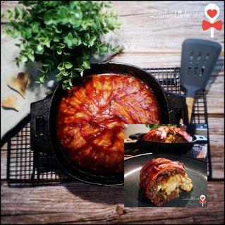 Bacon Bomb Rezept, Pampered Chef Rezepte, Grillrezepte