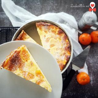 Runde Ofenhexe Pampered Chef®, Käsekuchenrezept, Zauberküche mit Herz