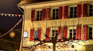 Seit April 2019 neu eröffnet: Ristorante Gasthof Sonne in Eiken - Traditionelles italienisches Essen in gemütlichem Ambiente