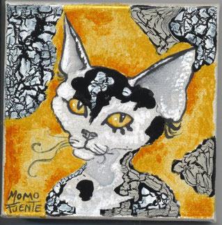 Peinture de Momo Fuente (voir ses oeuvres sur son blog :