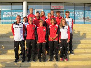Leichtathletik-Team 2017 Deaflympics Samsun/Türkei