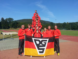 Nationalteam-Lehrgang in Bad Blankenburg 2015
