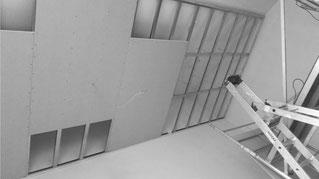 Trockenbau - Decke abhängen - GERZEN wand-design