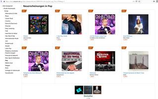 Platz 56 in den Amazon Charts der Pop Neuerscheinungen! (April 2021)