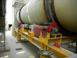 Anwendung Molytrop Trockenschmierstoffe an Asphaltmischanlagen
