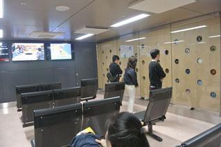 金沢駅の待合室