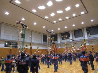 金沢市第一消防団合同練習会