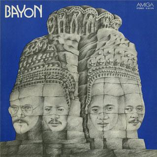 In Stein gemeißelt! Das Album-Cover von 1977 führt uns nach Südostasien (discogs.com)