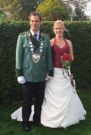 Königspaar Mark & Vera Dremel