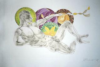 Träumender Dionysos