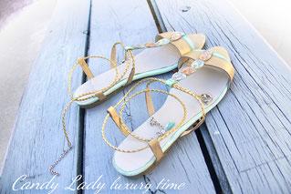 Candy Lady Shoes дизайнерские сандалии босоножки, индивидуальный пошив Киев Москва Санкт-Петербург