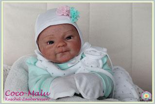 Coco Malu,  Elisa Marx, Axel Marx, Rebornbaby, cuddle baby, cuddle reborn, Rebornpuppe, Puppe wie echt, Gaby Doboczky Emsenhuber, Puppen wie echt