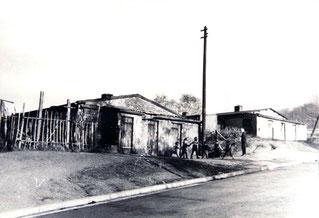 dudweiler, saarbruecken, baracken, neuweilerstraße, nachkriegszeit