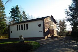 dudweiler, friedhof, einsegnungshalle, leichenhaus
