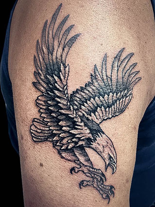 eagle tattoo ulfric tattoo. Black Bedroom Furniture Sets. Home Design Ideas
