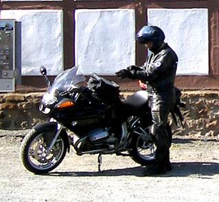 Unterwegs mit meiner BMW R1100S