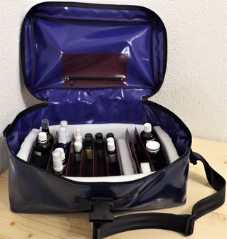 Bottle-Case aus Blachen