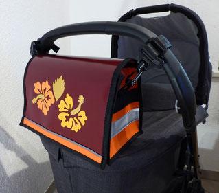 """Kinderwagentasche """"Hibiscus"""""""