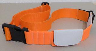 Pferdehalsband mit Tasche für GPS-System