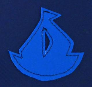 Segelschiff mini