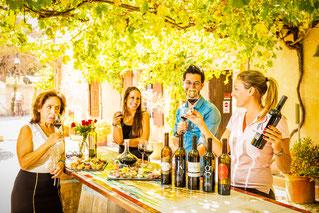 dégustation de vins château Le Bouïs Gruissan rc vtc Narbonne ballade gourmande