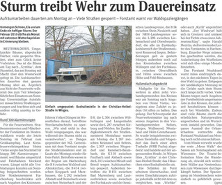 Bericht der Westerwälder Zeitung vom 02.03.2010