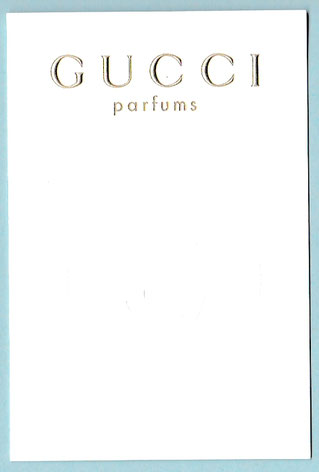 GUCCI PARFUMS - ECRITURE DOREE