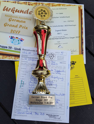 Cora von Zollverein, Pokal