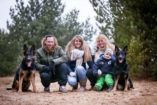 Bandit, Amelie & Familie