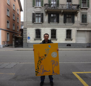 Exhibitions Lucerne , Art Switzerland , Painter Swiss, Roeoesli ,