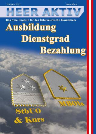 Heer Aktiv. Das Freie Magazin für das Österreichische Bundesheer.