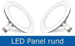 LED Panel rund