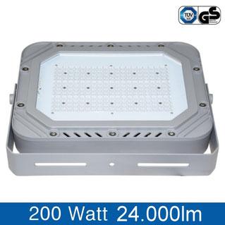LED Flutlichtstrahler 200W, tageslichtweiss, 6000K