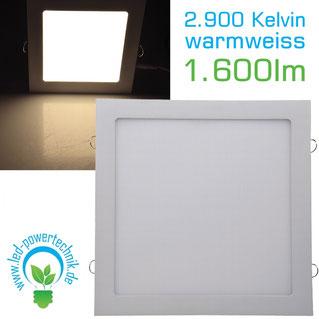 LED Licht-Panel 12W, 296x296mm, 6000K, tageslichtweiß,