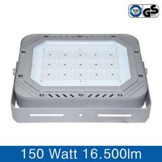 LED Fluter, Strahler, 150W, 16000lm, silber
