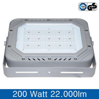 LED Fluter 200W, 22.000lm, tageslichtweiss