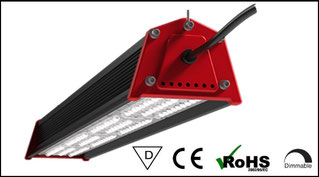 Lineare LED Hallenleuchte, Strahler