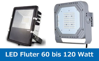 led fluter 60 bis 120 Watt