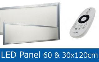 LED Panel 30x120cm, LED Panel 60x120cm
