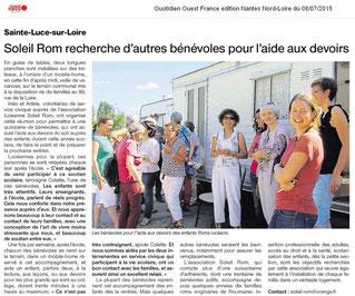 Ouest-France du 8 juillet