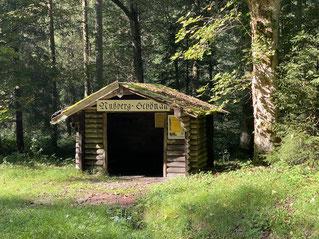 Waldbahn-Station mitten in der Natur