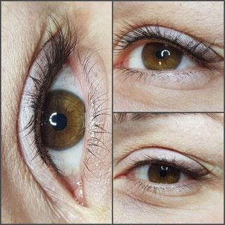 Permanent Make-up Augen/Lider in   Köln Long Time Liner Anastasia Garnet