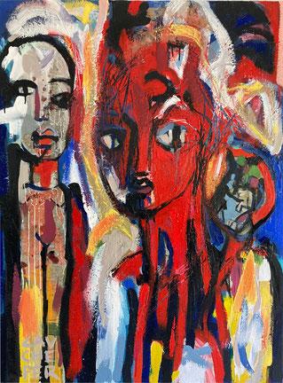 ARIA 123 x 92 cm - Juillet 2020 - Acrylique sur toile