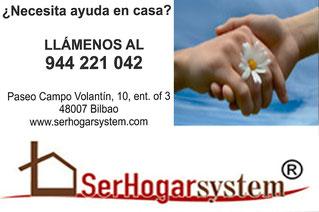Agencia de Servicio Doméstico SerHogarSystem. Paseo Campo Volantín 10, Ent. Of. 3. Bilbao 48007 (Bizkaia) 944 221 042