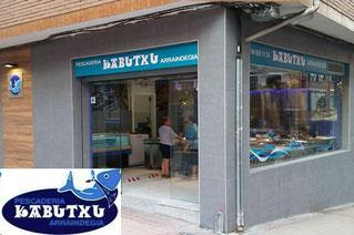 Pescadería Kabutxu. Calle Bagatza 14, Bajo. Barakaldo 48902 (Bizkaia) 946 551 124