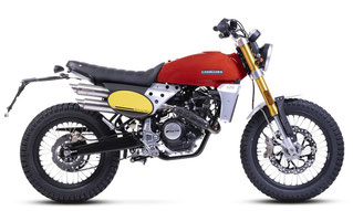 Caballero Flat Track 125 rote Lackierung