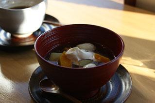 小豆のお汁粉(1月)