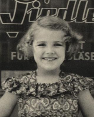 Gaby mit 6 Jahren
